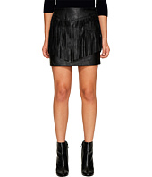Jack by BB Dakota - Cooley Faux Leather Fringe Skirt