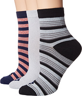 Sperry - Rugby Stripe w/ Twist Ankle Sock