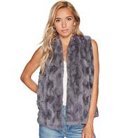Jack by BB Dakota - Cheerio Swirly Textured Soft Faux Fur Vest