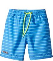 Toobydoo - Aqua Blue Pinstripe Swimsuit - Regular (Infant/Toddler/Little Kids/Big Kids)