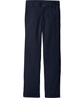Nautica Kids - Slim Flat Front Twill Double Knee Pants (Big Kids)