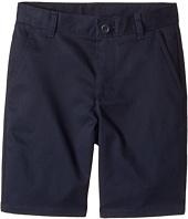 Nautica Kids - Regular Flat Front Twill Shorts (Little Kids/Big Kids)