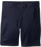 Nautica Kids - Husky Flat Front Twill Shorts (Big Kids)
