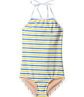 Toobydoo - Blue & Yellow Stripe One-Piece (Infant/Toddler/Little Kids/Big Kids)