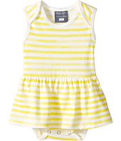 Toobydoo - Yellow Watercolor Stripe Ballerina Suit (Infant)