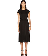 Francesco Scognamiglio - Short Sleeve Banded Waist Dress