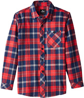 Rip Curl Kids - Teller Long Sleeve Flannel Shirt (Big Kids)