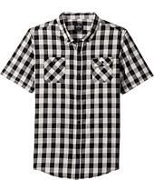 Rip Curl Kids - Check Swing Short Sleeve Shirt (Big Kids)