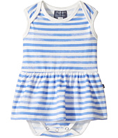Toobydoo - Watercolor Blue Ballerina Bodysuit (Infant)