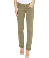 Mavi Jeans - Emma Slim Boyfriend in Silver Green Twill