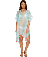 Seafolly - Linen Block Stripe Kaftan Cover-Up