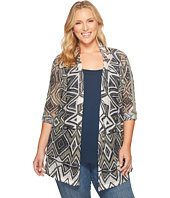 NIC+ZOE - Plus Size Mountain Dream Cardy