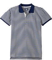 Toobydoo - Stripe Polo (Infant/Toddler/Little Kids/Big Kids)