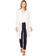 Three Dots - Drape Front Cardigan