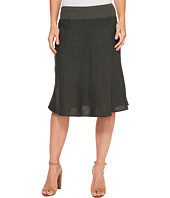 Three Dots - Woven Linen Skirt