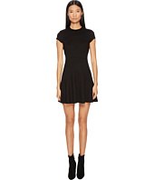 DSQUARED2 - Wool Jersey Grunge Cap Sleeveless Dress