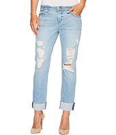 Hudson - Riley Crop Relaxed Straight Raw Cuffed in Push N Shove