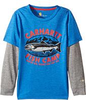 Carhartt Kids - Force Fish Camp Tee (Little Kids)