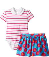 Kate Spade New York Kids - Jess Stripe Skirt Set (Infant)