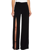Nicole Miller - Alex Satin One Leg Slit Pants