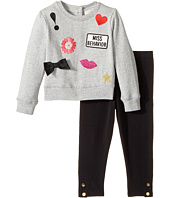 Kate Spade New York Kids - Patched Sweatshirt Set (Infant)