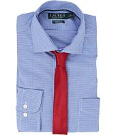 LAUREN Ralph Lauren - Classic Fit Non Iron Broadcloth Estate Collar with Pocket Dress Shirt