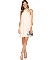 1.STATE - Halter Neckline Shift Dress