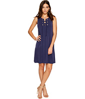 1.STATE - Lace-Up Shift Dress