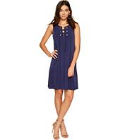 1.STATE - Lace-Up Shift Dress