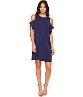 1.STATE - Cold Shoulder Dress w/ Sleeve Ties