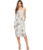 1.STATE - Spaghetti Strap V-Neck Dress w/ Slits