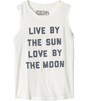 Spiritual Gangster Kids - Live and Love Muscle Tank Top (Toddler/Little Kids/Big Kids)