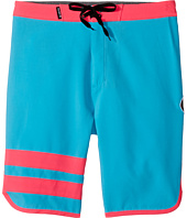 Hurley Kids - Print Block Party Boardshorts (Big Kids)