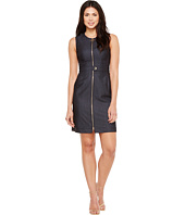 Calvin Klein - Zipper Front Denim Dress 8931638