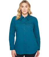 Roper - Plus Size 1257 Black Filled - Teal
