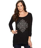 Roper - 1298 Poly Rayon Thermal Top with Screen Print