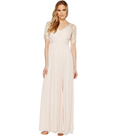 Adrianna Papell - Stretch Sequin and Tulle Gown