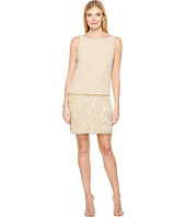 Adrianna Papell - Beaded Blouson Cocktail Dress