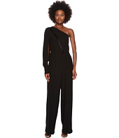 YIGAL AZROUËL - One Shoulder Fringe Detailed Jumpsuit