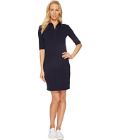 Lacoste - 1/2 Sleeve Stretch Pique Polo Dress