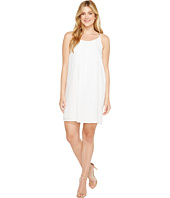 TWO by Vince Camuto - Linen Pintuck Swing Dress