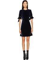 Sonia Rykiel - Velvet Short Sleeve Dress