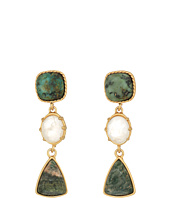 LAUREN Ralph Lauren - Linear Stone Drop Earrings