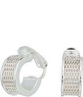 LAUREN Ralph Lauren - Half Round Huggie Clip Earrings