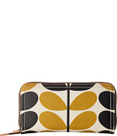 Orla Kiely - Stem Check Print Big Zip Wallet