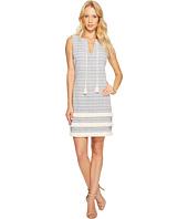 Jessica Simpson - Striped Tweed Shift Dress JS7A8997