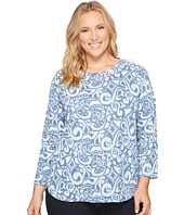 Extra Fresh by Fresh Produce - Plus Size Wander Catalina Top
