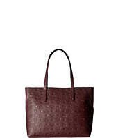 MCM - Klara Monogrammed Leather Top Zip Medium Shopper