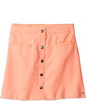 Tommy Hilfiger Kids - Snap Front Fray Skirt (Big Kids)