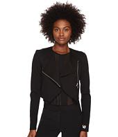 Versace Jeans - Asymmetrical Zip Long Sleeve Jacket